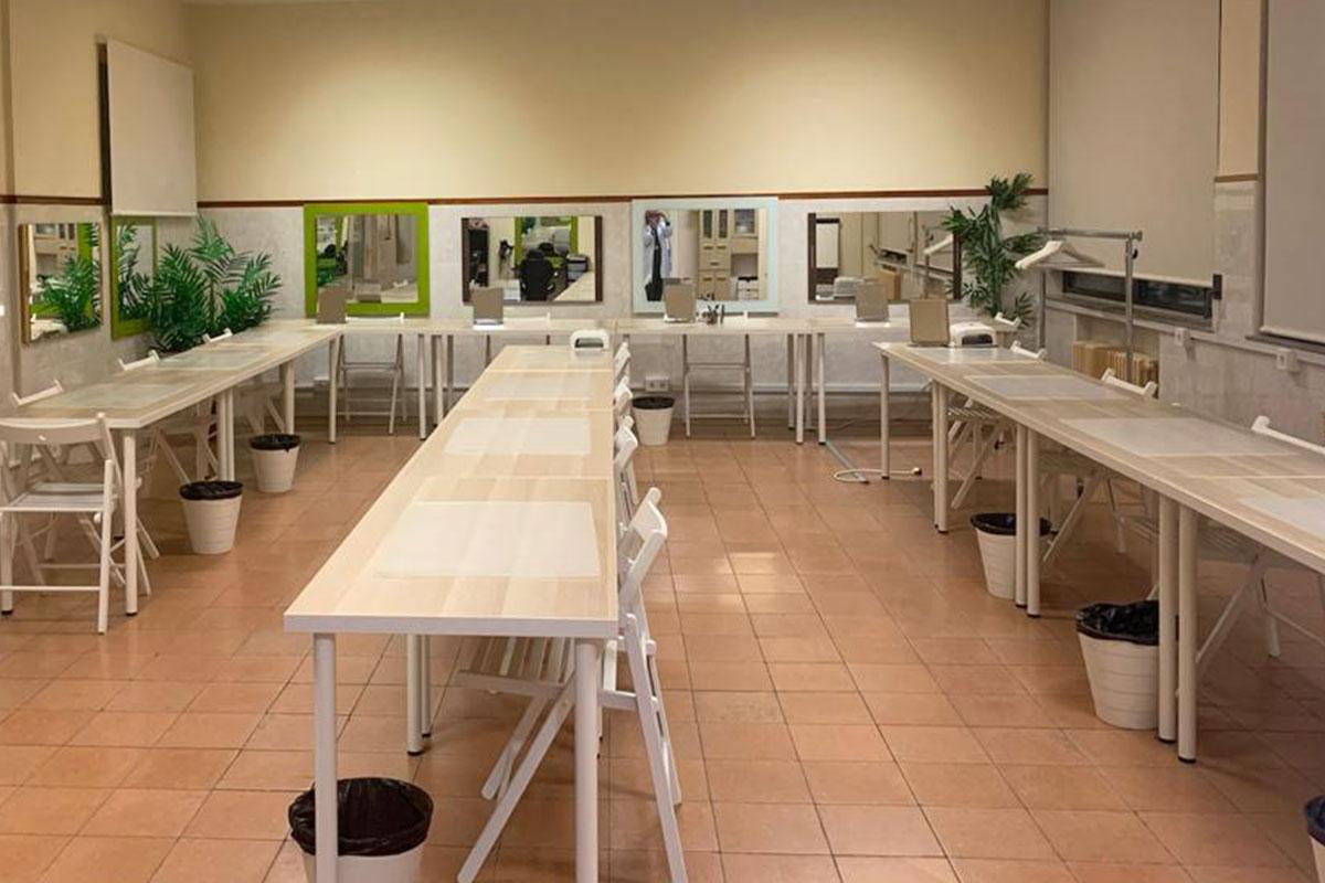 Aula tratamiento manos-Formatecyl Centro Valladolid
