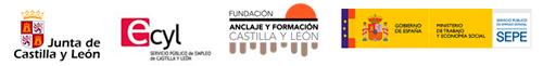 Logos oficiales Formación Continua CyL