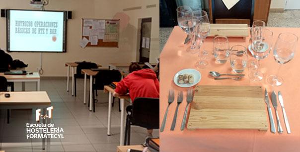 Teoría y práctica en la Escuela de Hostelería Formatecyl